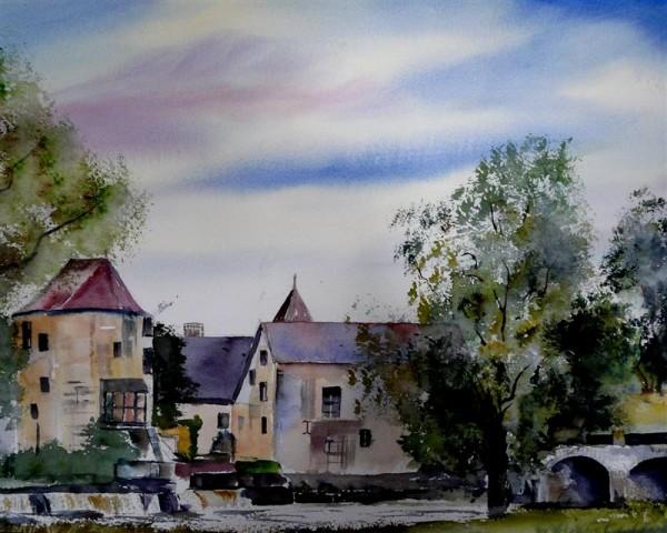 Painting a week  in the Morvan France 27