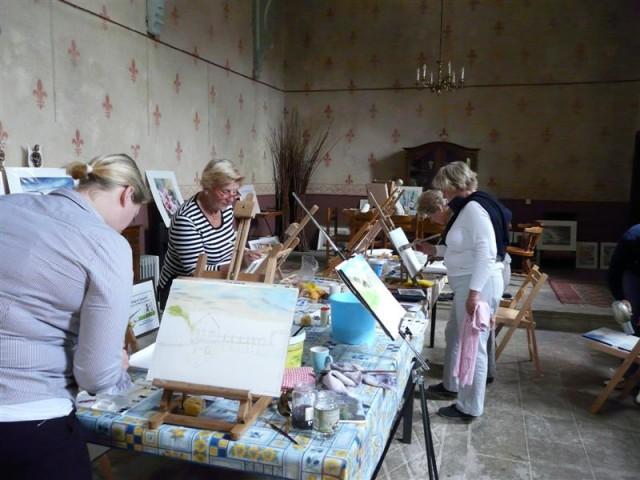 Painting a week  in the Morvan France 5