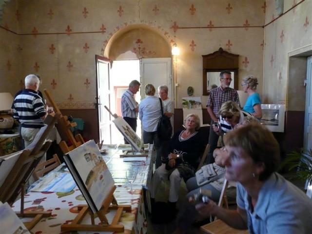 Painting a week  in the Morvan France 14