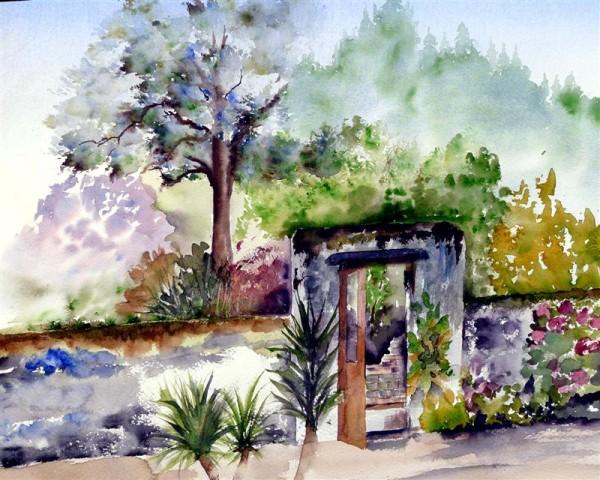 Painting a week  in the Morvan France 21