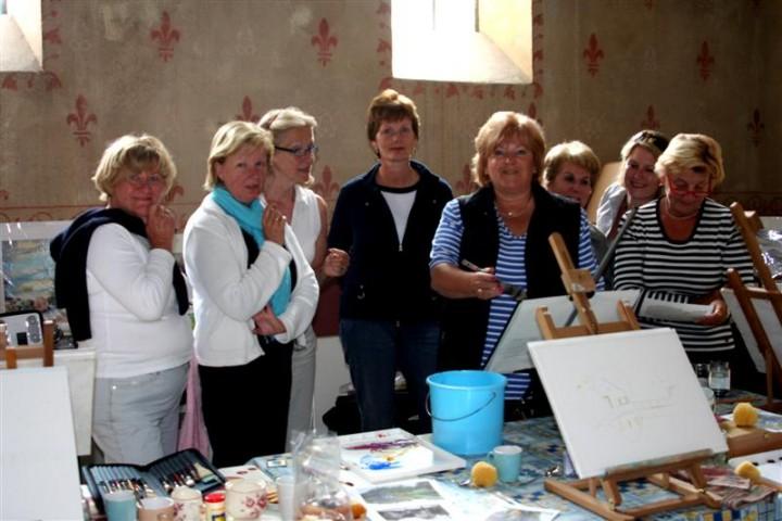 Painting a week  in the Morvan France 23