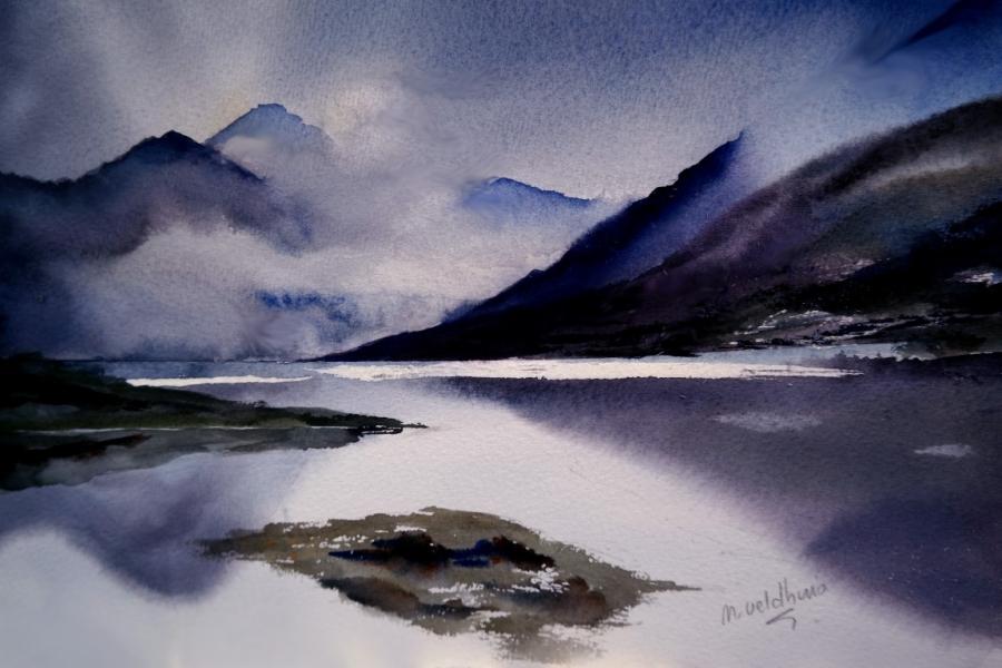 Mist in Scotland