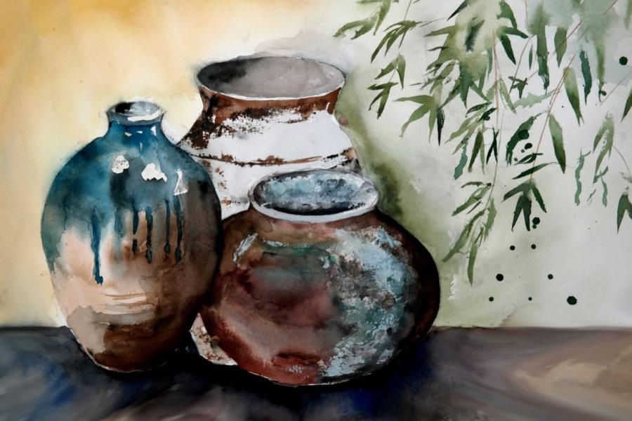 Oost potten