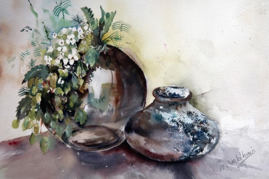 Oost potten 2